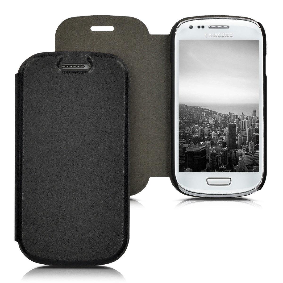 Pouzdro FLIP pro Samsung Galaxy S3 Mini černé