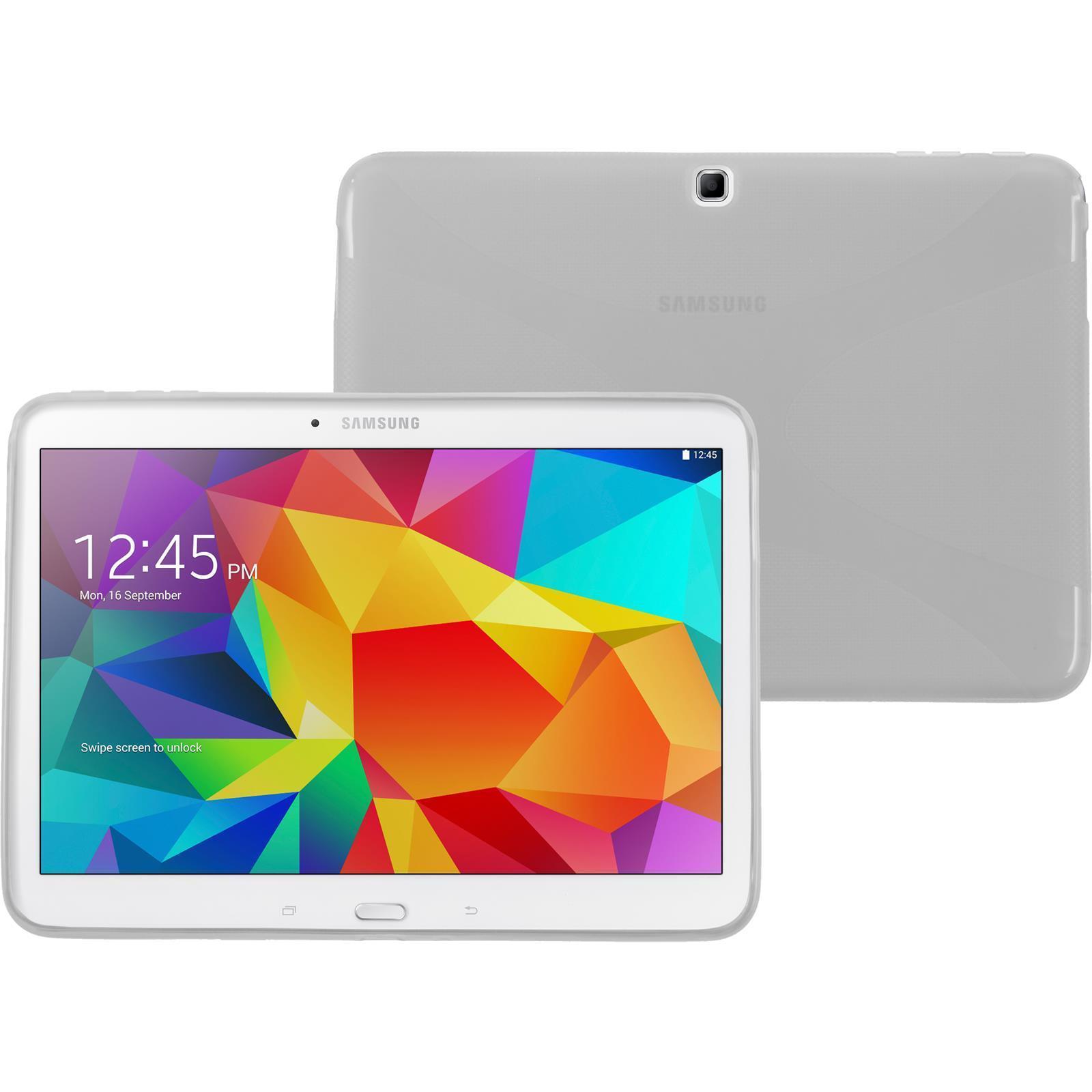 Pouzdro GEL pro Samsung Galaxy Tab 4 10.1 T530 světlé
