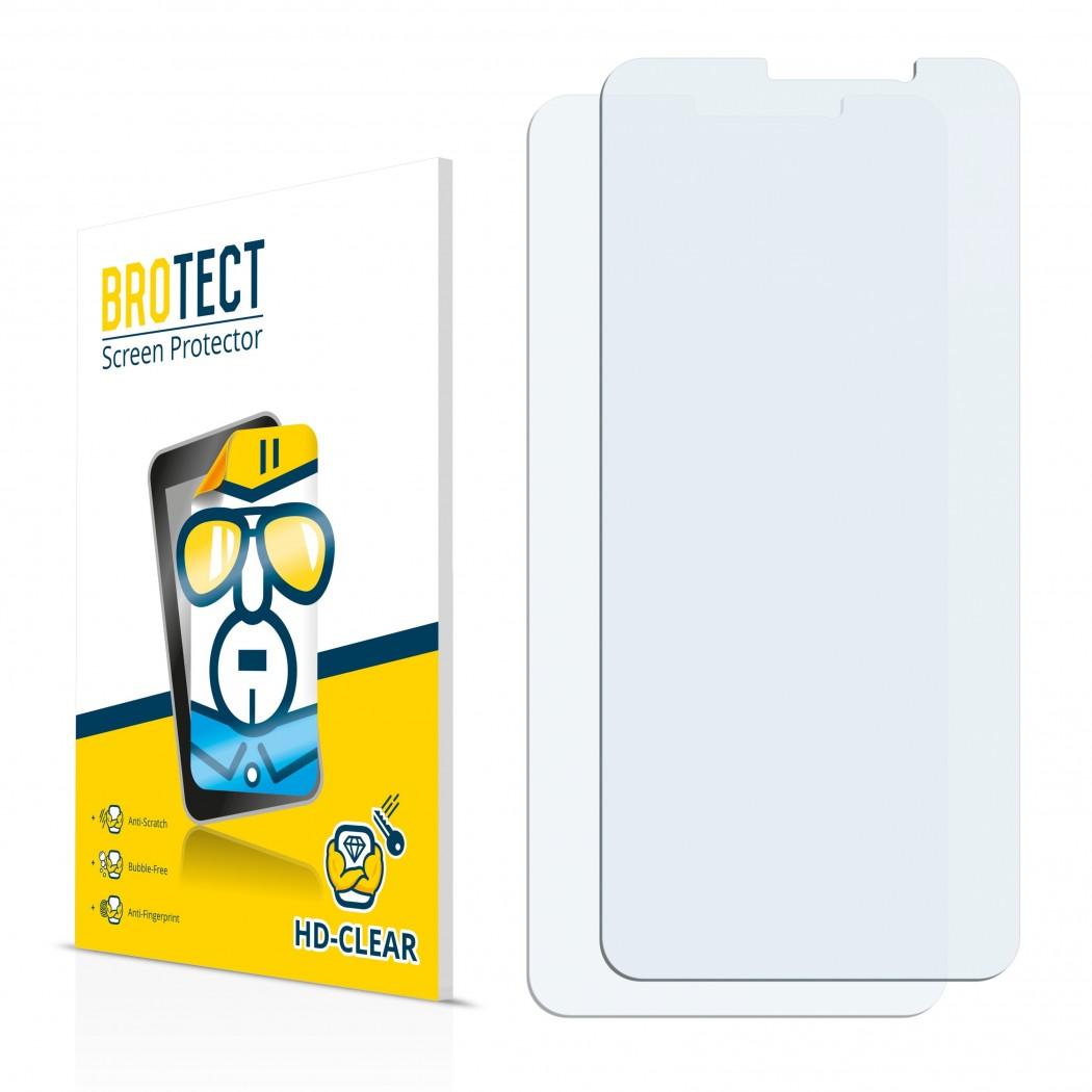 2x BROTECTHD-Clear Screen Protector Cubot J3 Pro