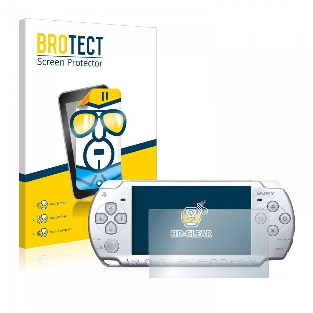 2x BROTECTHD-Clear Screen Protector Sony PSP 2004
