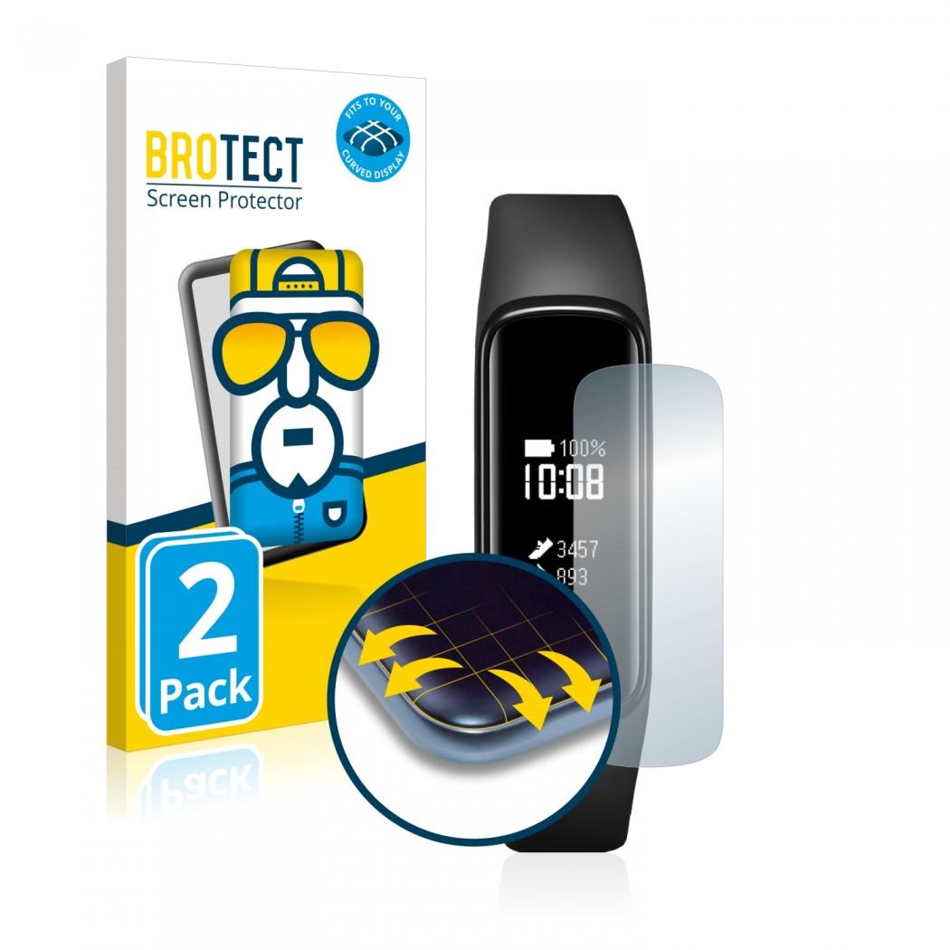 2x BROTECT Flex Full-Cover Protector Samsung Galaxy Fit e