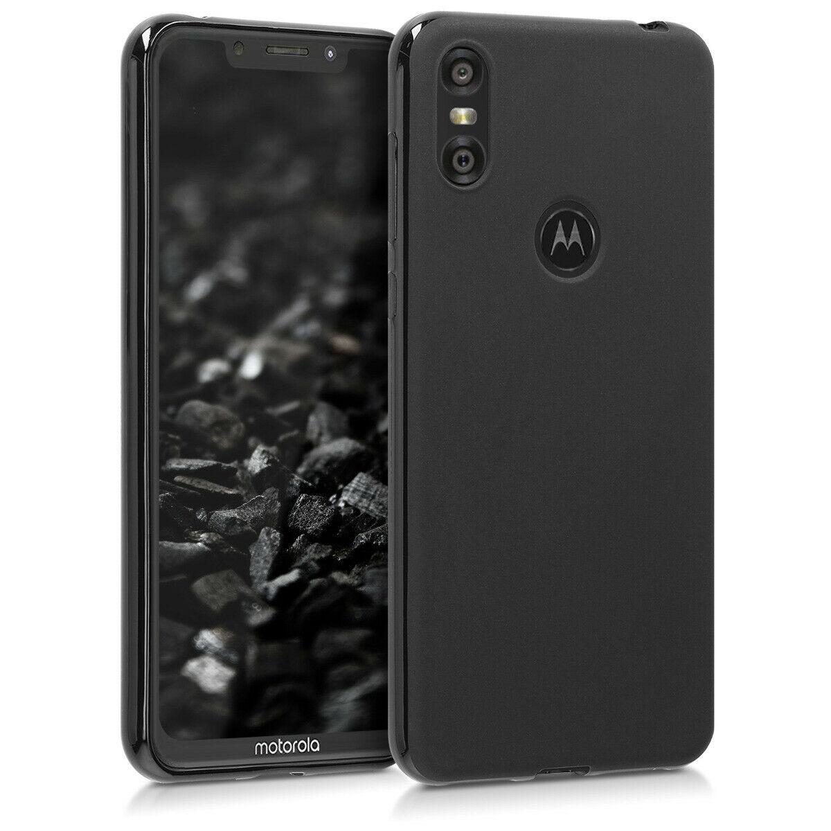 Pouzdro GEL pro Motorola One černé